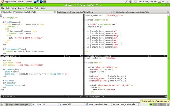 VIM text editor
