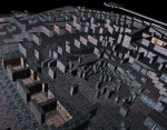 Vertex Shading with blue light color